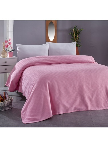 Komfort Home Çift Kişilik Çok Amaçlı %100 Pamuklu Pike 200x230 Cm Renkli